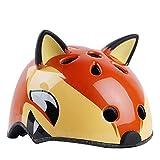 DUANYR-Helmet Casque de vélo pour Enfants, Casque d'équitation de Voiture, Casque de Dessin animé d'animaux d'équitation Casque de Patins à roulettes