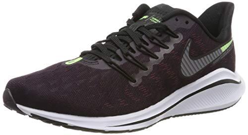 Nike Men's Air Zoom Vomero 14 Running Shoes, Purple (Burgundy Ash/Atmosphere Grey/Lime Blast/Black/Gun Smoke 600), 7 UK