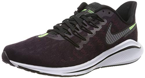 Nike Air Zoom Vomero 14 Mens Running Shoes Burgundy Ash/Atmosphere Grey/Lime Blast/Black 10 M US