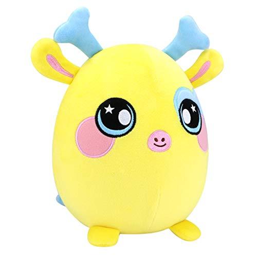 Squeezamals, 8 Plush, Giraffe - Super-Squishy Foam Stuffed Animal! Squishy, Squeezable, Cute, Soft, Adorable!