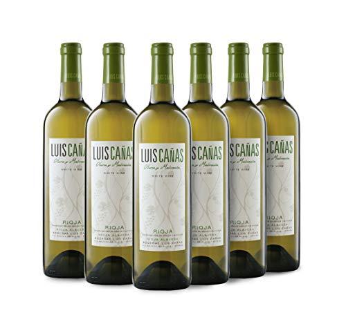 Luis Cañas Blanco Joven Vino Blanco Jov Caja Cartón 6 Botellas - 750 ml