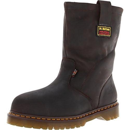 Dr. Martens Men's 2295 Steel IM Boot,Gaucho Volcano,6 UK/7 M US