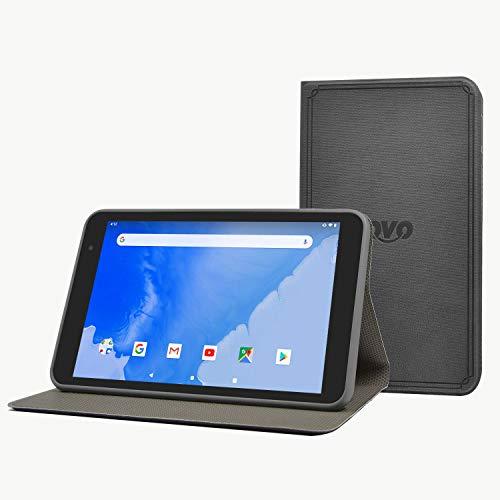 Winnovo T8 8-Zoll-Tablet-Tasche - Ultra-schlanke Standfunktion aus PU-Leder mit Magnetverschluss