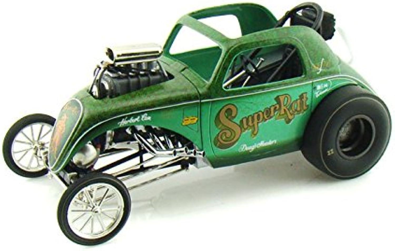 Acme Super Rat Altered Fiat Dragster 1 18 Green