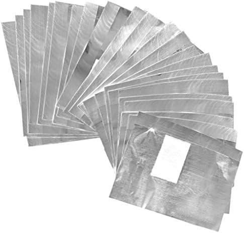 Tongcloud 400pcs Nail Polish Remover Nail Foil Wraps Nail Gel Remover Soak Off Foils Cotton product image