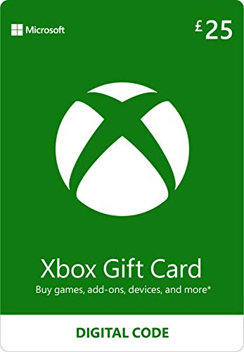 Xbox Live £25 Gift Card [Xbox Live Online Code]