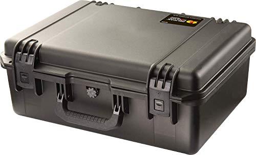 PELI Storm IM2600 valise de transport extrêmement résistante, étanche à l'eau et à la poussière, capacité de35L, fabriquée aux États-Unis, avec insert en mousse personnalisable, couleur: noire