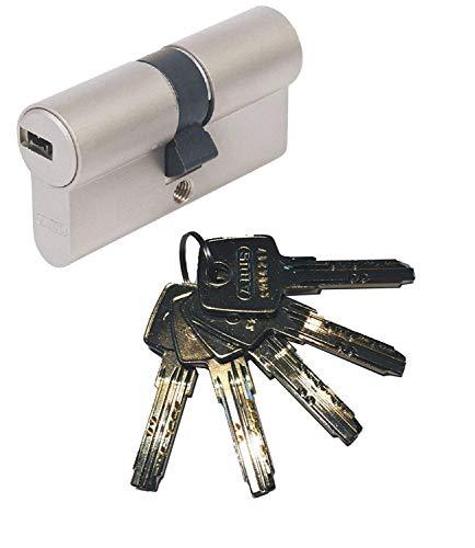 ABUS EC550 Profil-Doppelzylinder Länge 30/50mm mit 5 Schlüssel