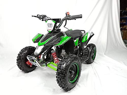 Mini quad de gasolina con motor de 49cc de 2 tiempos -ATV20 PANTERA. / Mini quad para niños de 5 a 12 años/miniquad infantil