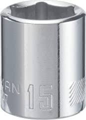 "Full polish chrome finish for corrosion resistance 6 point socket for increased torque with fastener Meets or exceeds ASME specifications CRAFTSMAN full Lifetime warranty Full Lifetime Warranty, refer to ""Warranty & Support"" section below for full de..."