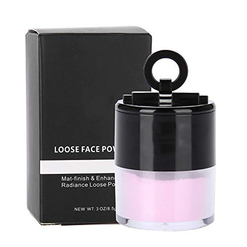 Loser Puder, Popfeel Professional Face Durchscheinender loser Puder Oil Control Whitening Makeup Powder(FT03 Pink)
