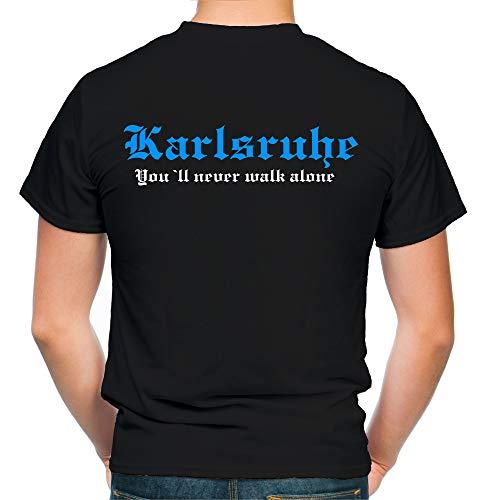Karlsruhe Kranz T-Shirt | Liga | Trikot | Fanshirt | Bundes | M2 (XL)