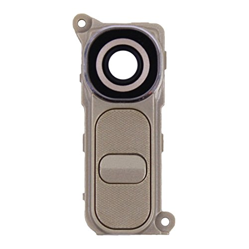 TANGJIANCHENG-PHONE ACCESSORIES Profesional Botón de Encendido y botón de Volumen Compatible con LG G4 / H810 / H811 / H815 / F500 Partes (Color : Gold)