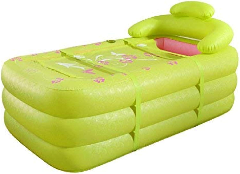 BAIF Inflatable Bathtub for Kids, Inflatable Bathtub and Inflatable Bathtub and Bathtub for Inflatable Bath and Inflatable Bath (color  Green)