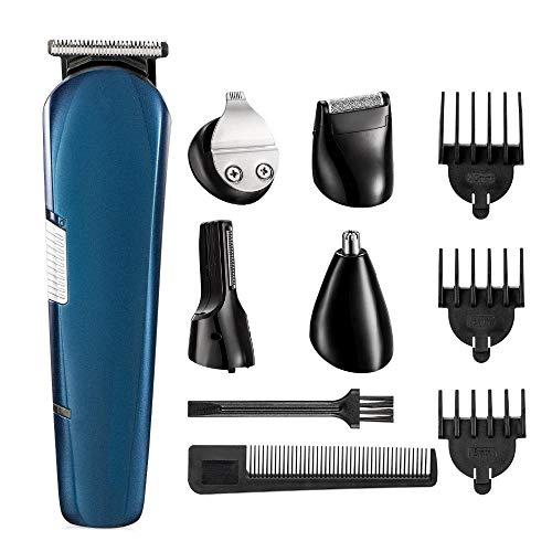 Grooming kit tondeuse elektrische tondeuse voor mannen baard trimer scheren machine wenkbrauw trim hoofd scheerapparaat body groomer