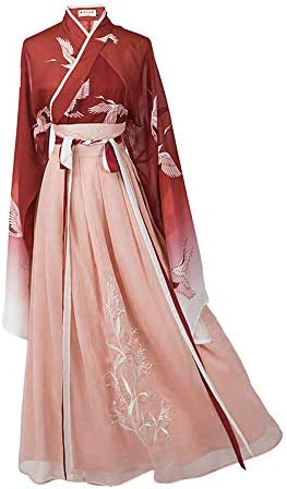 Women Ancient Chinese Dress Traditional Flowy Hanfu Costume Fancy Halloween Cosplay Dress product image