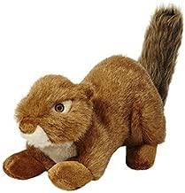 Fluff & Tuff SQUEAKERLESS Red Squirrel