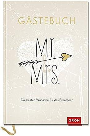 r & rs Die besten Wünsche für das Brautpaar Gästebuch Geschenkewelt r & rs GROH Erinnerungsalbu by Joachim Groh