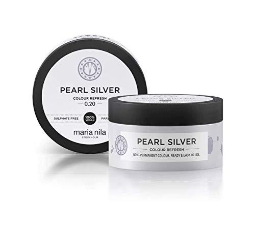 Maria Nila Colour Refresh - Pearl Silver 100ml | Eine revolutionäre Farbmaske für ein klares, kühles Farbergebnis