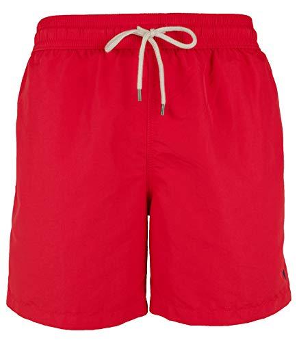 Polo Ralph Lauren Herren Badehose aus Nylon - Rot - Medium