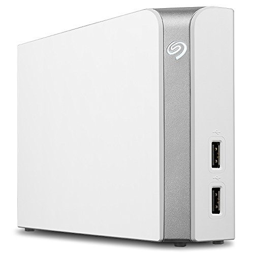 Seagate Backup Plus Hub for Mac 8TB External Hard Drive Desktop HDD – USB 3.0, 2 USB Ports, for Computer Desktop Workstation PC Laptop Mac, 2 Months Adobe CC Photography (STEM8000400)