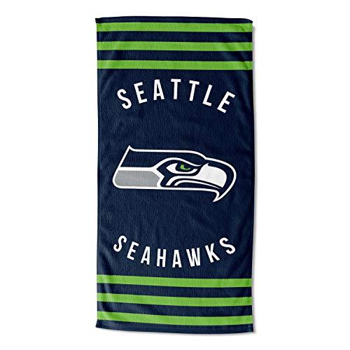 The Northwest Company Seattle Seahawks Strandtuch, gestreift, 30 x 60 cm