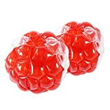 SUNSHINEMALL 1 PC Bumper Ball, Inflatable Body Bubble Ball Sumo Bumper Bopper Toys, Heavy Duty Durable PVC Vinyl Kids Adults Physical Outdoor Active Play (1pcs red+Clean, 36inch)