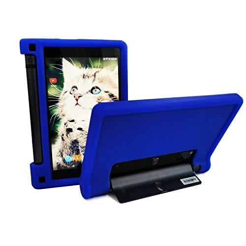 MingShore Rugged Case for Lenovo Yoga Tab 3 8 YT3-850F YT3-850M YT3-850L 8 inch Tablet, Kid Friendly Premium Silicone Cover fit Lenovo Yoga Tab 3 HD 8' ZA090094US Yoga Tab 3 8.0' WXGA Tablet