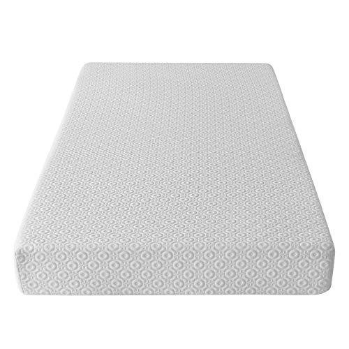 AmazonBasics Memory Foam Mattress, 15 cm Medium Soft, Single, Made in UK