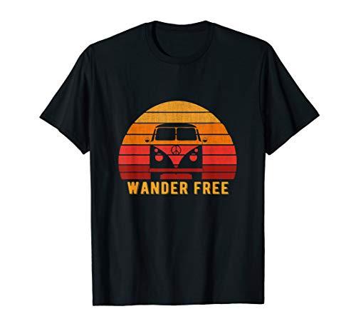 Wandern Freie Reise für Zigeuner, Freigeist! T-Shirt
