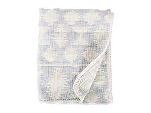 Pendleton Cotton Woven Baby Blanket Falcon Cove Slate One Size