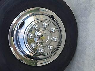 """beico Front Wheel Simulator 16"""" 8 Lug 4 Hole Chevy-GMC ONLY Express 3500 DUALLY Truck"""