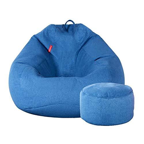 Highback gevulde zitzak met Ottomaanse loungestoel ideaal om te ontspannen, te gamen, te loungen, geweldig voor volwassenen, tieners CJC