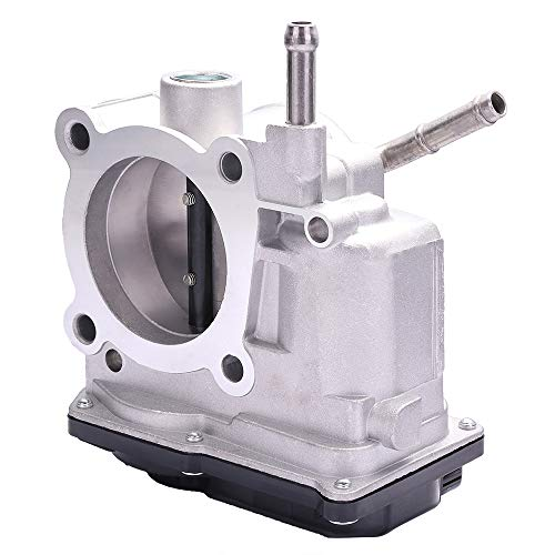 TUPARTS Throttle body Fuel Injection Throttle Body Controls Fit for 2005-2008 P-ontiac Vibe 1.8L, 2005-2008 T-oyota Corolla 1.8L, 2005-2008 T-oyota Matrix 1.8L Compatible with 22030-22041