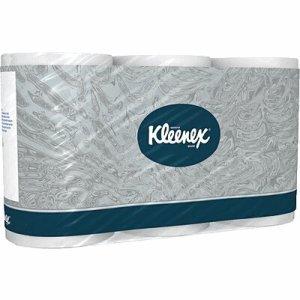 Kleenex Toilettenpapier Toilet Tissue super-hochweiß 3-lagig VE=6 Rollen