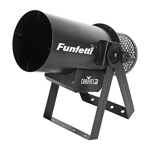 Chauvet Funfetti Shot DMX Konfettikanone Maschine inkl. Fernbedienung | DJ Hochzeit