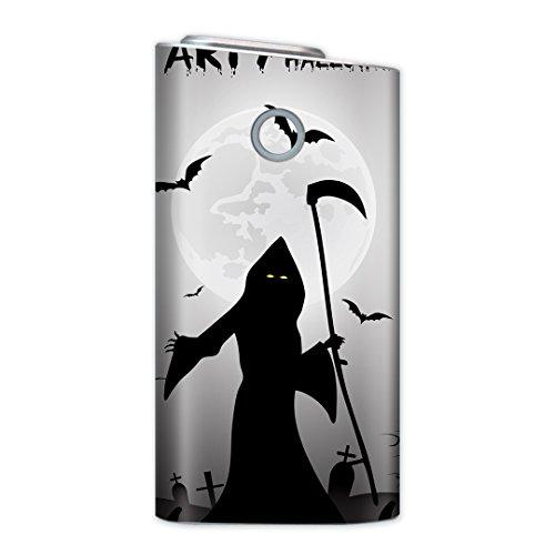 glo グロー グロウ 専用スキンシール 裏表2枚セット カバー ケース 保護 フィルム ステッカー デコ アクセサリー 電子たばこ タバコ 煙草 喫煙具 デザイン おしゃれ glow ユニーク クール その他 ハロウィン かぼちゃ 003376