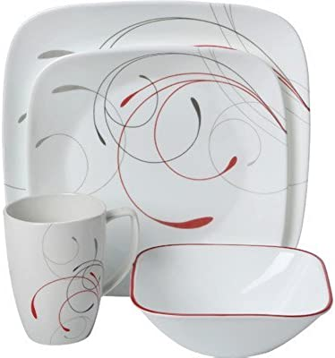 Corelle Squares Dinnerware Set - Splendor by CORELLE