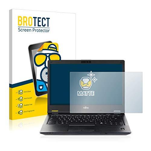 BROTECT Entspiegelungs-Schutzfolie kompatibel mit Fujitsu Lifebook U759 Bildschirmschutz-Folie Matt, Anti-Reflex, Anti-Fingerprint