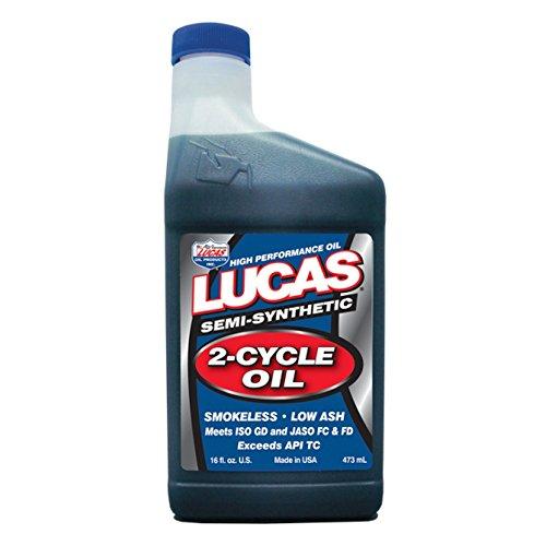Lucas Oil 10120-12PK 2-Cycle Oil - 16 oz, (Pack of 12)