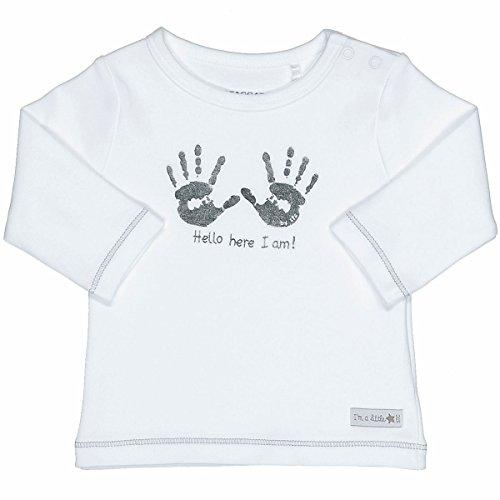 Staccato Unisex Baby Langarmshirt   Organic Cotton Bio-Baumwolle   White Größe 62   Basic Erstausstattung