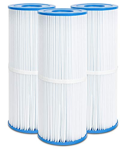 Future Way Hot Tub Filter Replacement for Rainbow Dynamic 25, 17-2327, Pleatco PRB25-IN, Unicel C-4326, Filbur FC-2375, 25 sq.ft Spa Filter Cartridges, 3-Pack