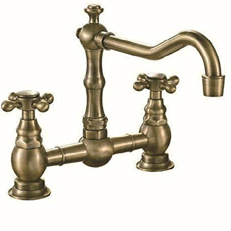 YIJIA Vollstndige Kupfer Retro Home Küchenspüle Wasserhahn Waschbecken