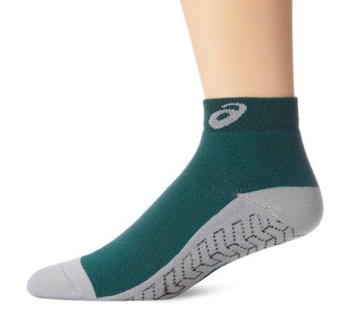 ASICS Snap Down Socken, Mädchen Jungen Unisex Damen Herren Unisex-Erwachsene, Forest/Grey, X-Large