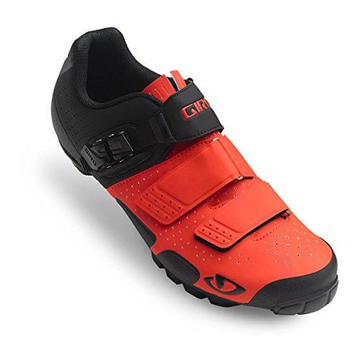 Giro Code VR70 Mens Mountain Cycling Shoe − 40, Vermillion/Black (2017)