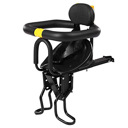 Affordable BAYUE Baby Bike Seat Front, Child Bike Seat Front Bicycle Front Seat for Mountain/Hybrid/...