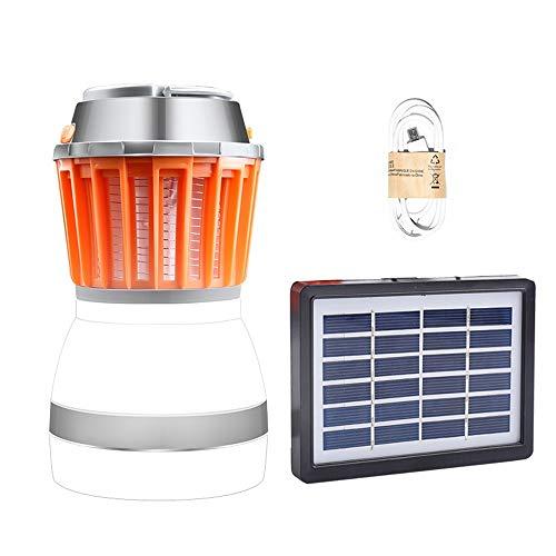 Duan hai rong DHR Geführtes kampierendes Licht, Moskito-Mörder, super helles Zelt-Licht im Freien, USB-Solaraufladung, wasserdichtes, großflächiges Moskito-Töten Camping Lichter