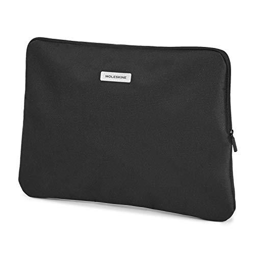 Moleskine Pouch da Viaggio Mini Borsello per Laptop, iPad, Tablet e Notebook fino a 13 pollici, 36 x 25.5 x 1 cm, Nero