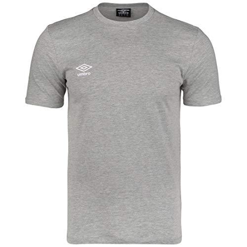 UMBRO FW Small Logo T-Shirt Herren grau, M