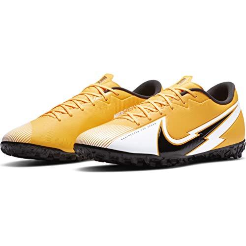 Nike, Botas de fútbol Unisex Adulto, Laser Orange Black White L, 40.5 EU